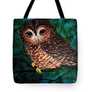 Northern Spotted Owl Tote Bag