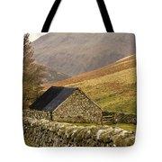 Northumberland, England Stone House Tote Bag
