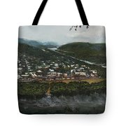 Northumberland On The Susquehanna River Tote Bag