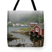 Norway, Fishing Village Tote Bag