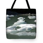 Norway, Iceberg Floating On Water Tote Bag
