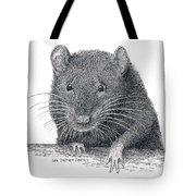 Norway Rat Tote Bag