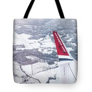 Norwegian Aerial Tote Bag