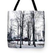 Norwegian Forest Tote Bag