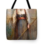 Norwegian Girl Tote Bag