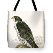Norwegian Jer Falcon Tote Bag