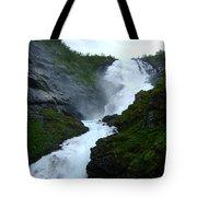 Norwegian Waterfall Tote Bag