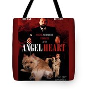 Norwich Terrier Art Canvas Print - Angel Heart Movie Poster Tote Bag