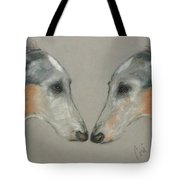Nose To Nose Tote Bag