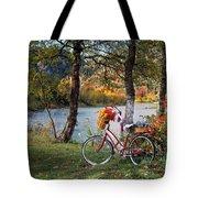 Nostalgia Autumn Tote Bag
