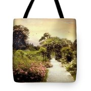 Nostalgia Of Roses Tote Bag