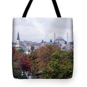 Nostalgia Of The Autumn In Istanbul Tote Bag