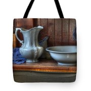 Nostalgia Wash Stand Tote Bag by Bob Christopher