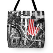 Nostalgic Collection-b And W Tote Bag
