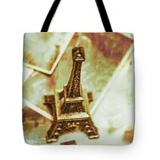 Nostalgic Mementos Of A Paris Trip Tote Bag