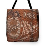 Nostalgic Painted Advertising Tote Bag