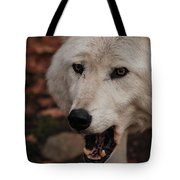 Not A Happy Face Tote Bag