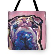 Not A Hippo- Just Hip Tote Bag