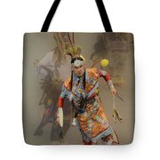 Pow Wow Not Alone Tote Bag