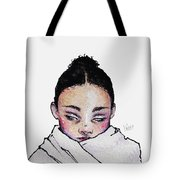 Not Angry, Just Cold Tote Bag