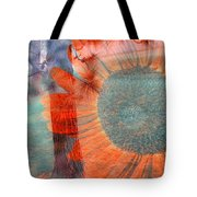 Not Another Sunflower Tote Bag by Myrna Migala