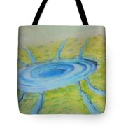 Not Everything Goes Down The Drain Tote Bag