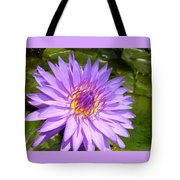 Purple Smiles Tote Bag