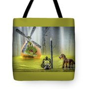 Not For Your Quirks Friend Stands Nearby Tote Bag