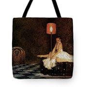 Not In Wonderland Tote Bag