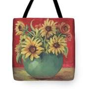 Not Just Sunflowers Tote Bag