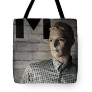 Not My M Tote Bag