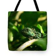 Not Quite Hidden Iguana Tote Bag