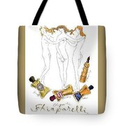 Not Shocked Tote Bag by ReInVintaged