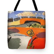 Not So Flat Kansas Tote Bag