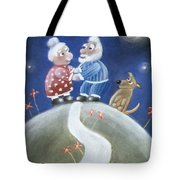 Not Yet Over The Hill Tote Bag