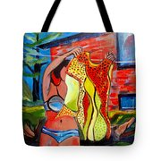 Not Your Grandma's Clothes Line Tote Bag