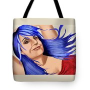 Not Your Typical Little Blue Haired Old Lady Tote Bag