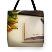 Notebook And Pen Tote Bag