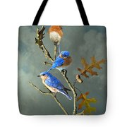 Nothing But Bluebirds Tote Bag