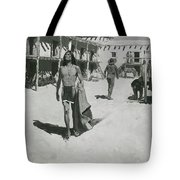Nothing But Cheerful Looks Followed The Bat Tote Bag