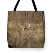 Nothing But White Tails Tote Bag