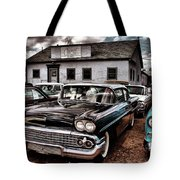 Nothing Buy Skies And Chevy's 2 Tote Bag by John De Bord