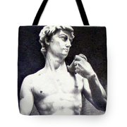Nothing Can Be Added - David Close Up Tote Bag