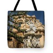Noto Sicilian Baroque - Church Of San Domenico On A Bright Sunny Day Tote Bag