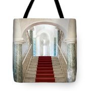Noto, Sicily, Italy - Luxury Entrance Of Nicolaci Palace Tote Bag