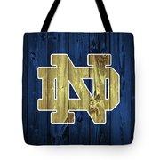 Notre Dame Barn Door Tote Bag
