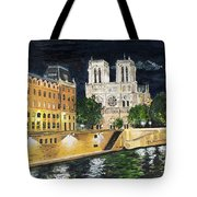 Notre Dame Tote Bag by Bruce Schmalfuss