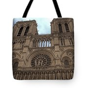 Notre-dame Cathedral Tote Bag