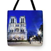 Notre Dame Cathedral Paris 4 Tote Bag