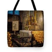 Notre Dame Chapel Tote Bag